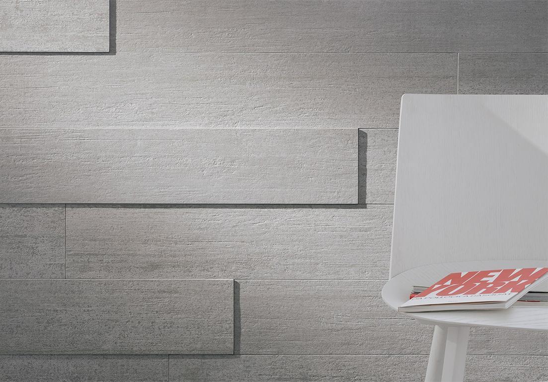 parete con muratura in rilievo