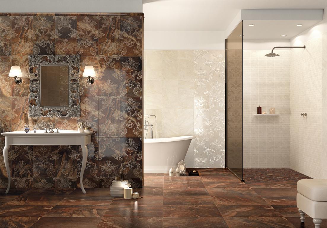 pavimento in granito per bagno