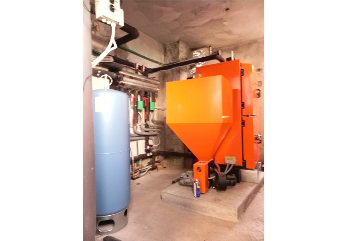 sistema di riscaldamento dell'acqua