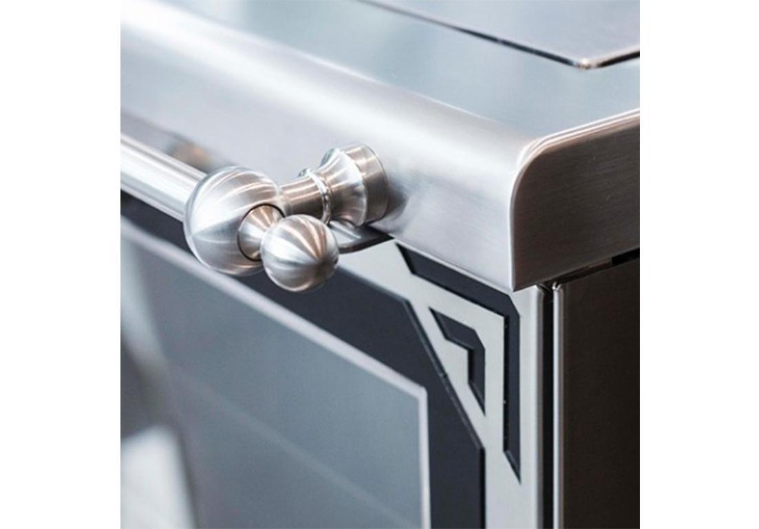 maniglia di camino personalizzato per salone