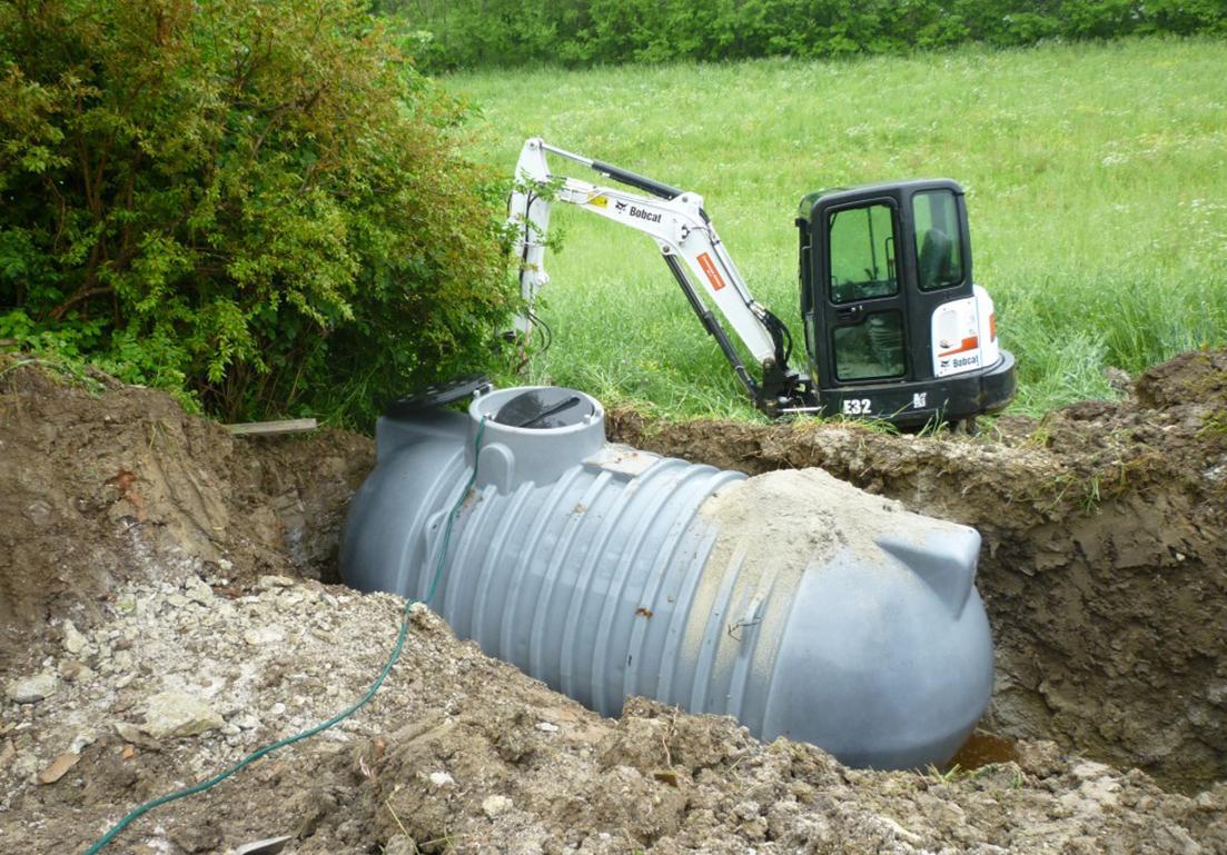 serbatoio per la raccolta di acqua piovana