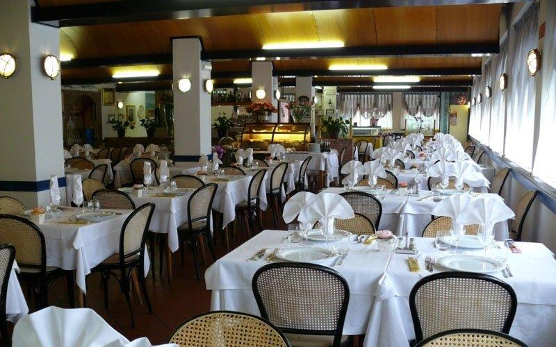 L' interno del ristorante