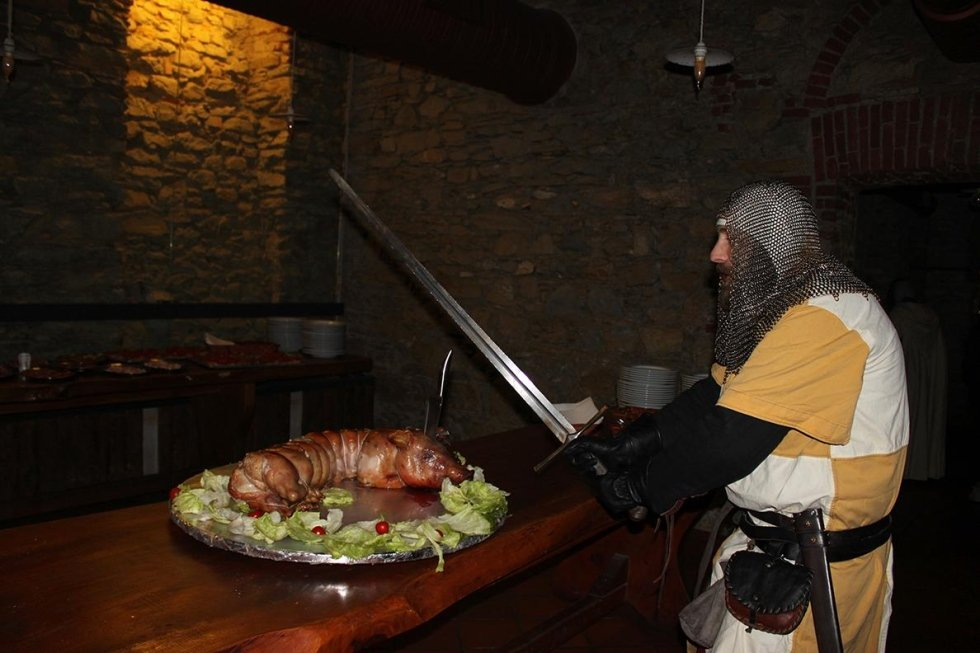 cena medioevale