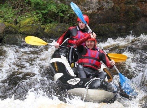 White water activity gift vouchers in Snowdonia