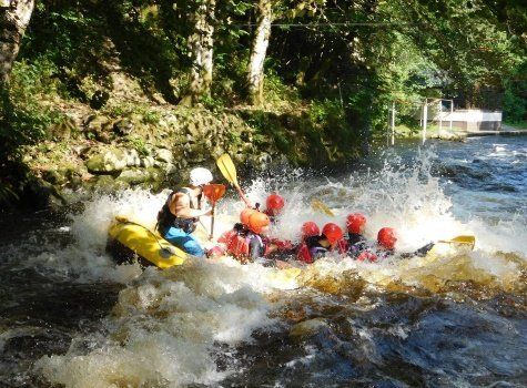 Gift vouchers with the National White Water Centre in North Wales