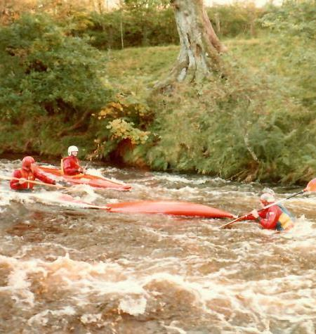 Swimming on the Tryweryn