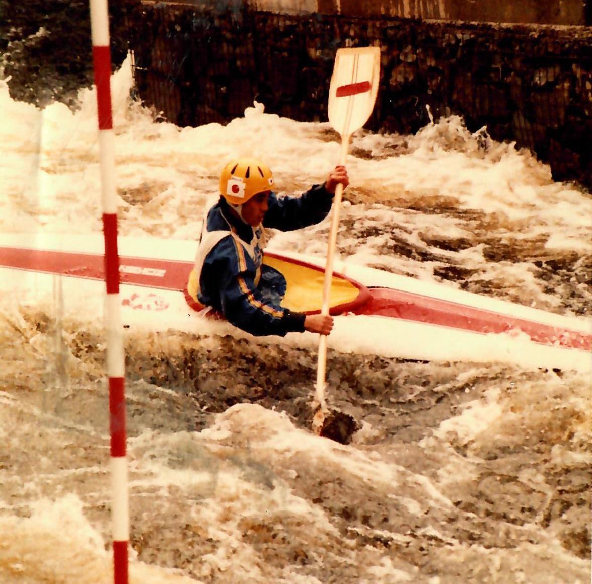 World Championships slalom kayaking