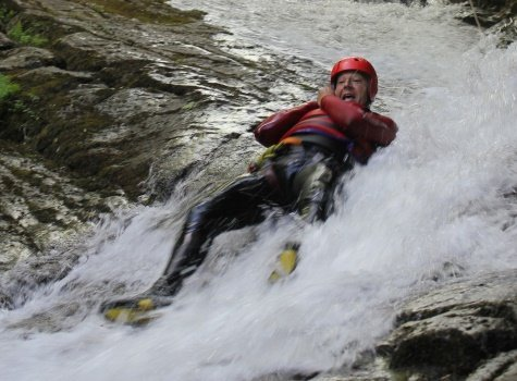 Canyoning gift vouchers in north Wales