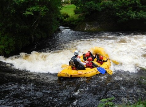 Gift vouchers with the National White Water Centre in Bala