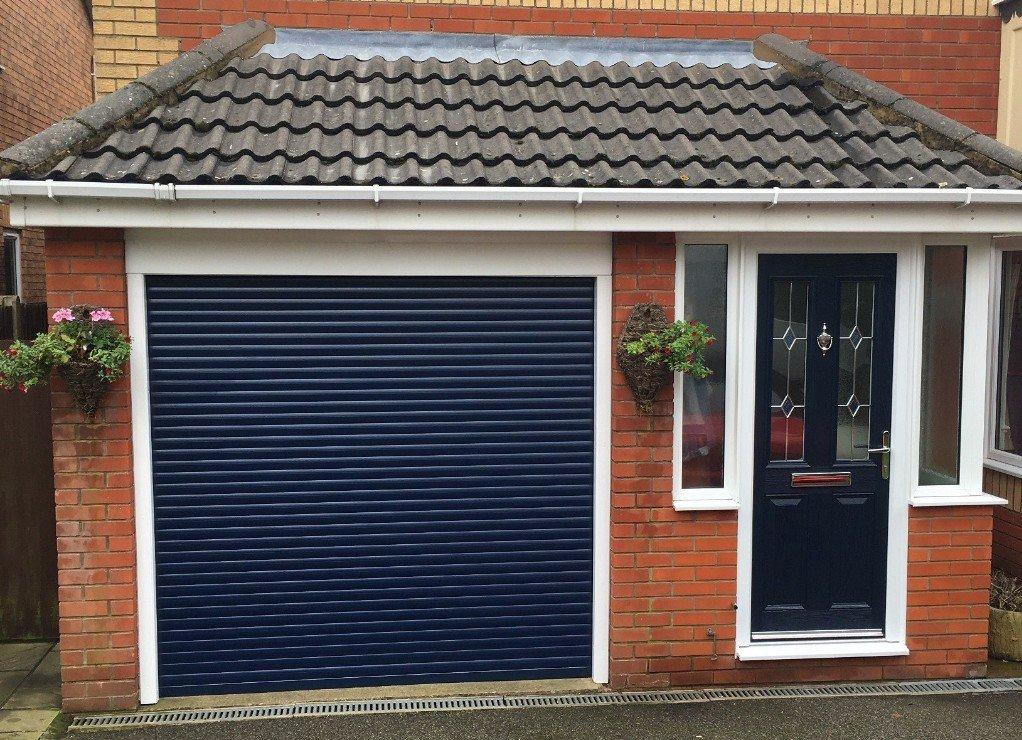 A Choice Of Roller Garage Doors In Sheffield