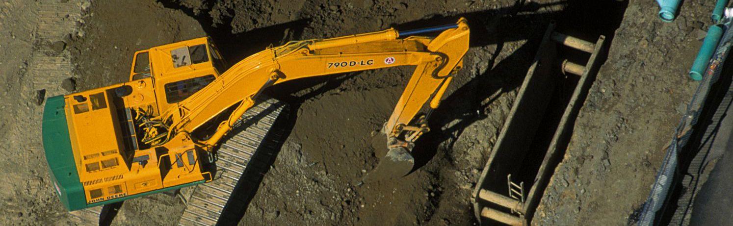 excavating contractors crane in Eastsound, WA