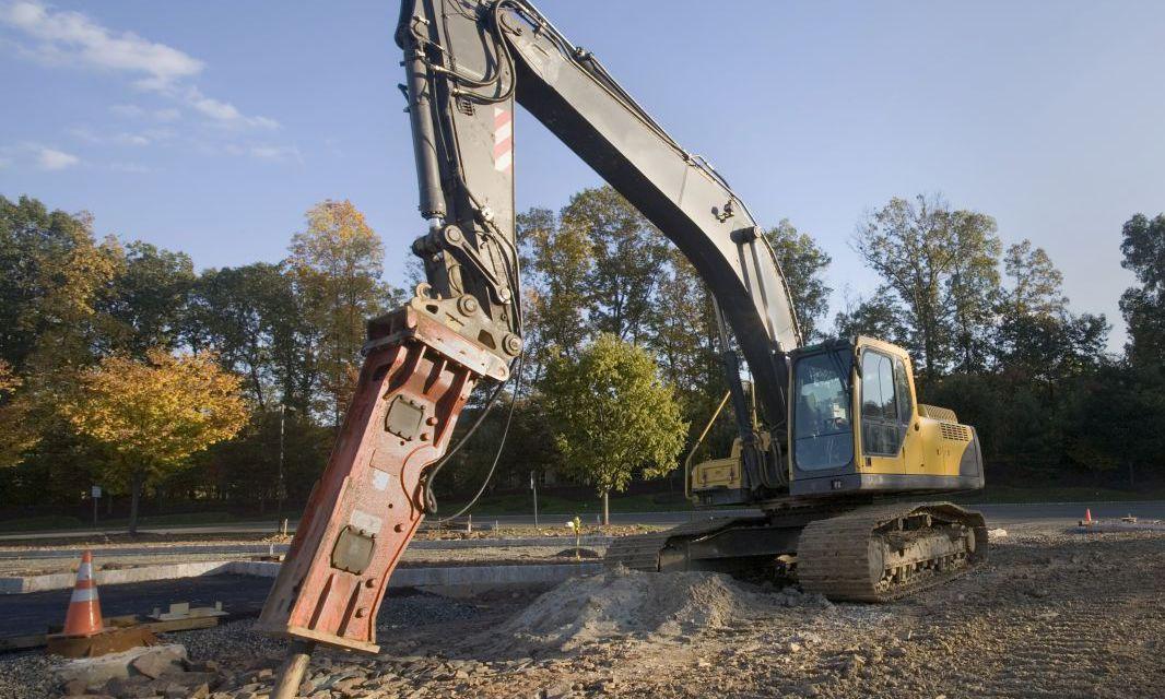 excavators digging in Eastsound, WA