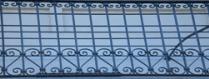 Ringhiera decorativa in ferro