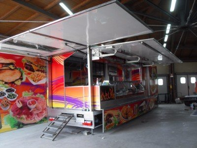 Camion ristorante su ruote