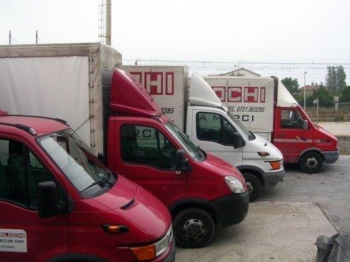 Camion professionali per svolgere ogni attività di trasporto su strada.