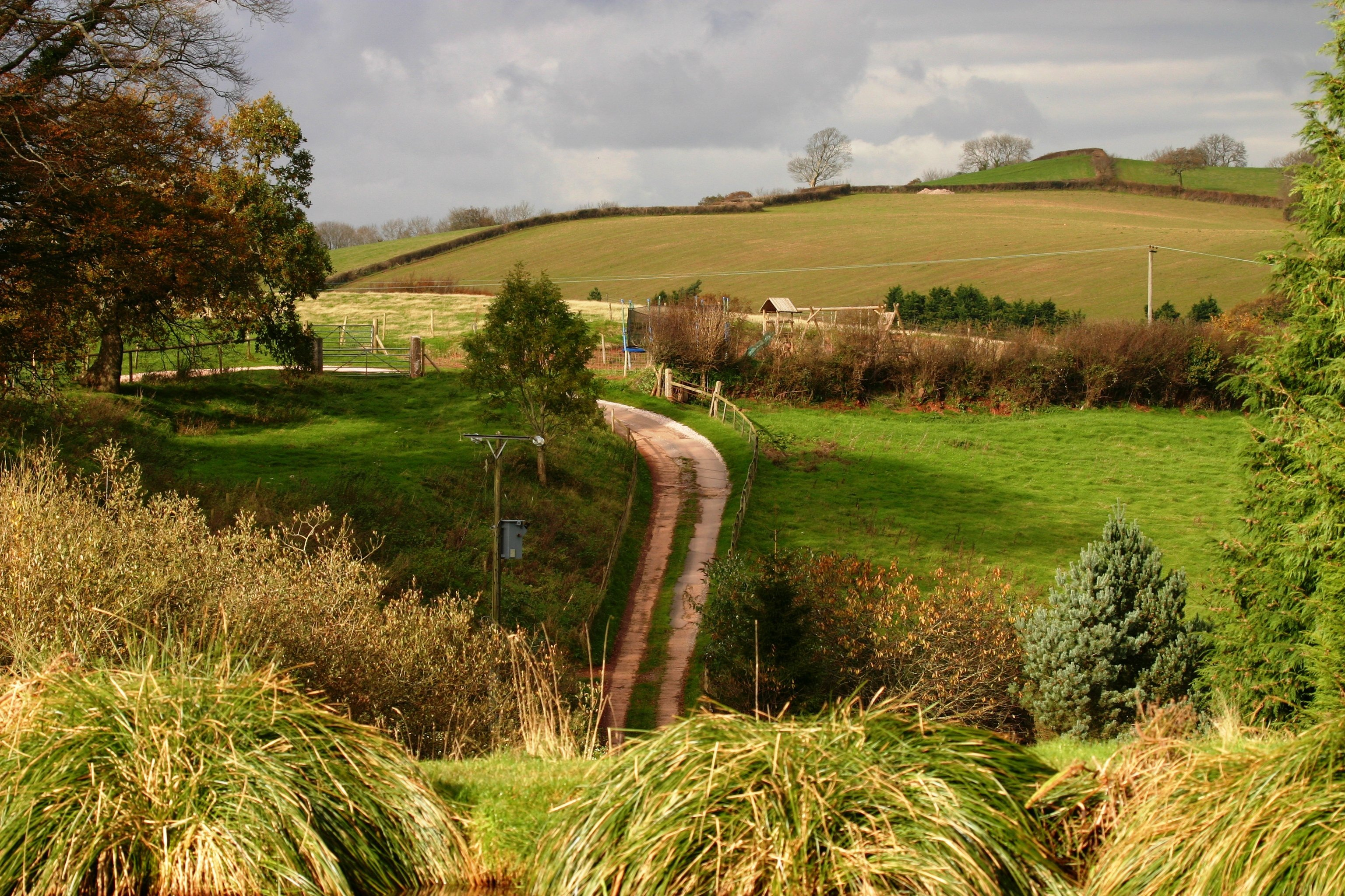 far view of the farm