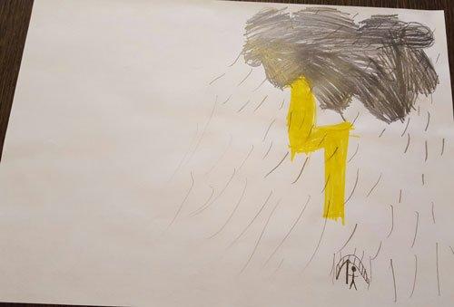 disegno fatto da bambini