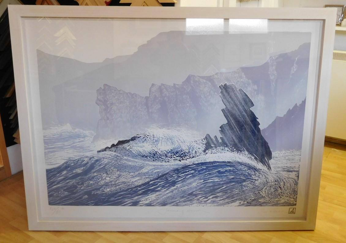 painting of the sea water