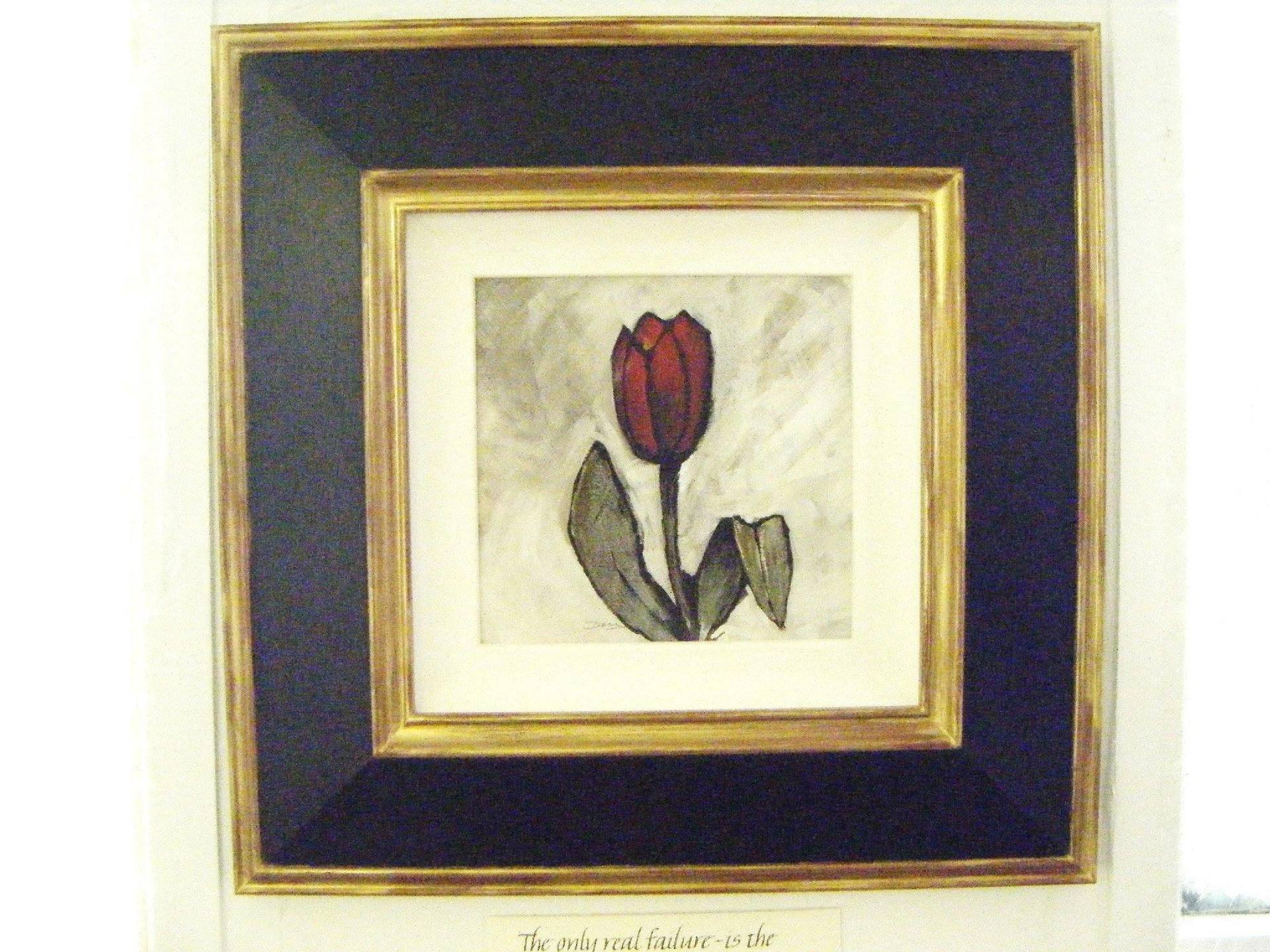 Painting of a rose
