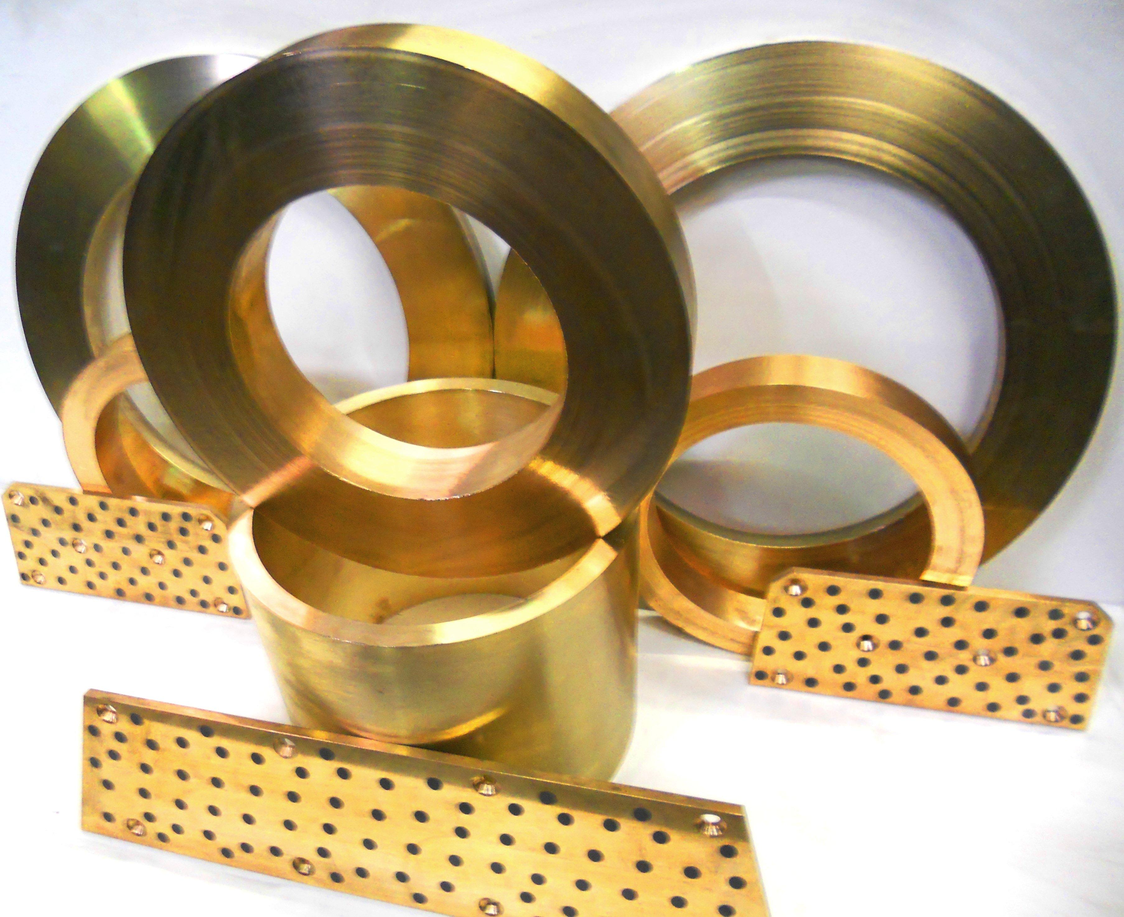 machined bronze