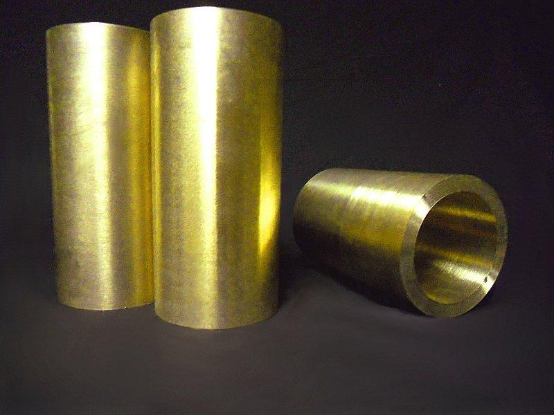 proof machined bronze tube