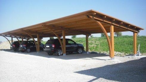 Copertura In Legno Per Auto : Home castenaso strutture in legno