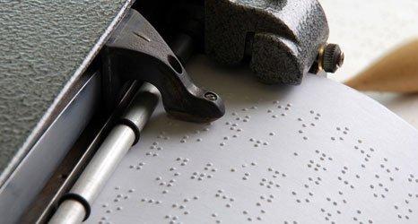 Braille printer