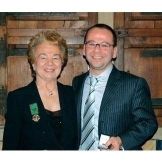 Sig.ra Maria Teresa Nervo e Dott. Walter Almasso