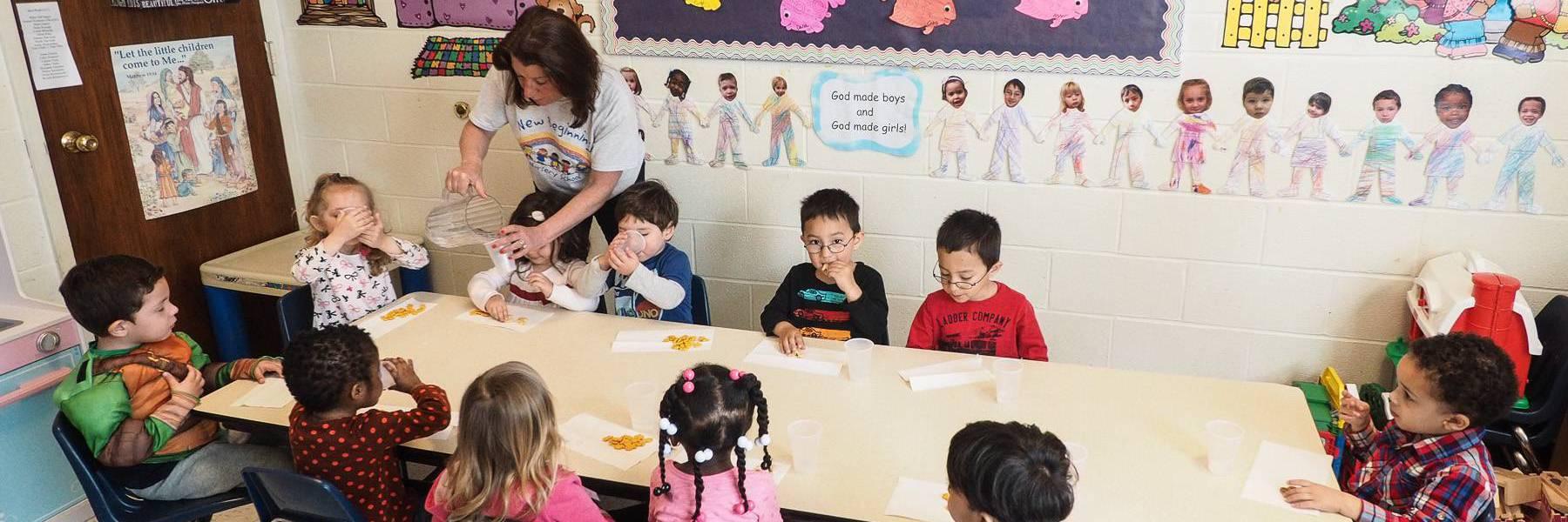 Nursery School Serving Ossining Ny At New Beginnings