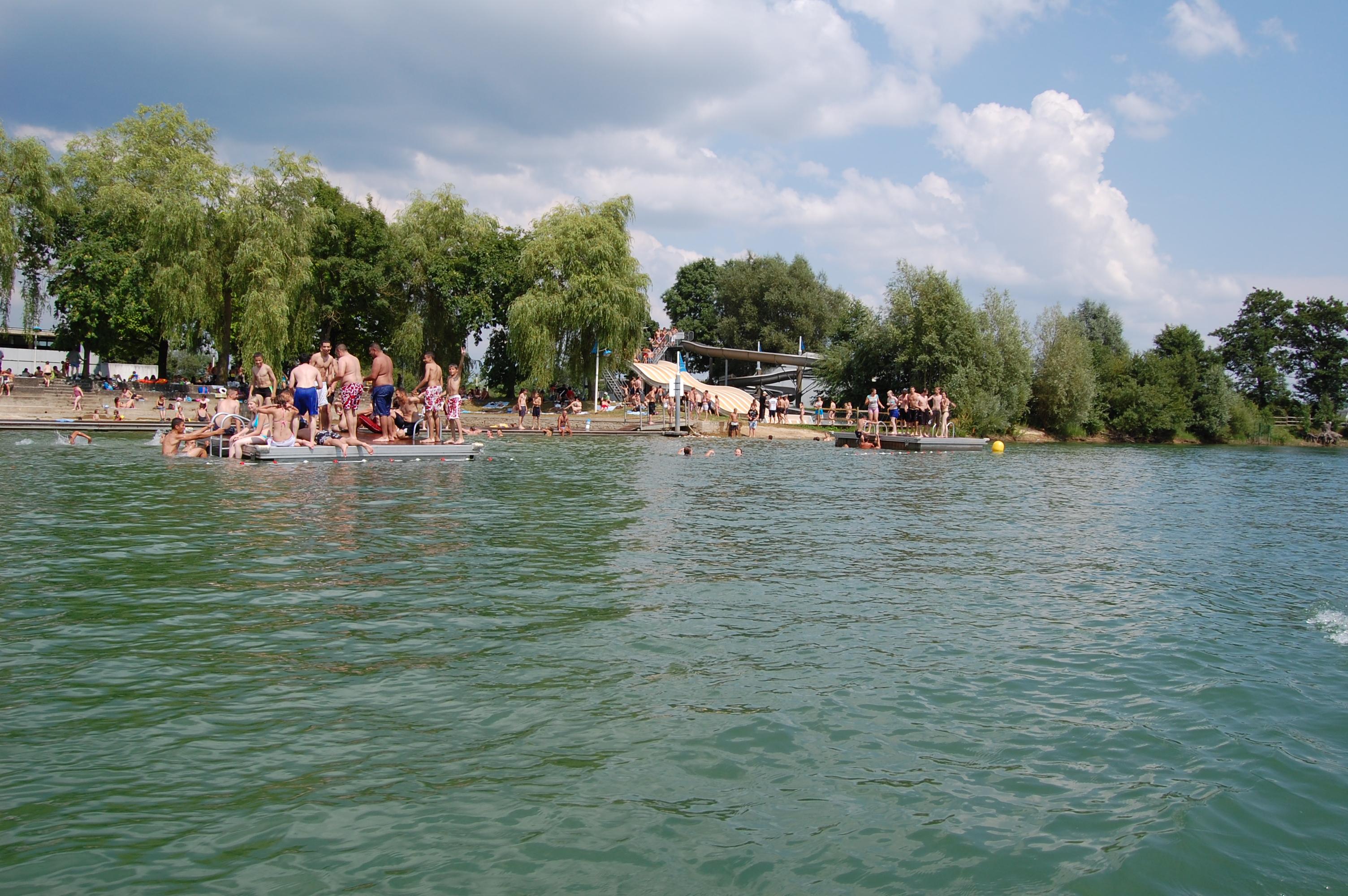 Le lac de Douzy