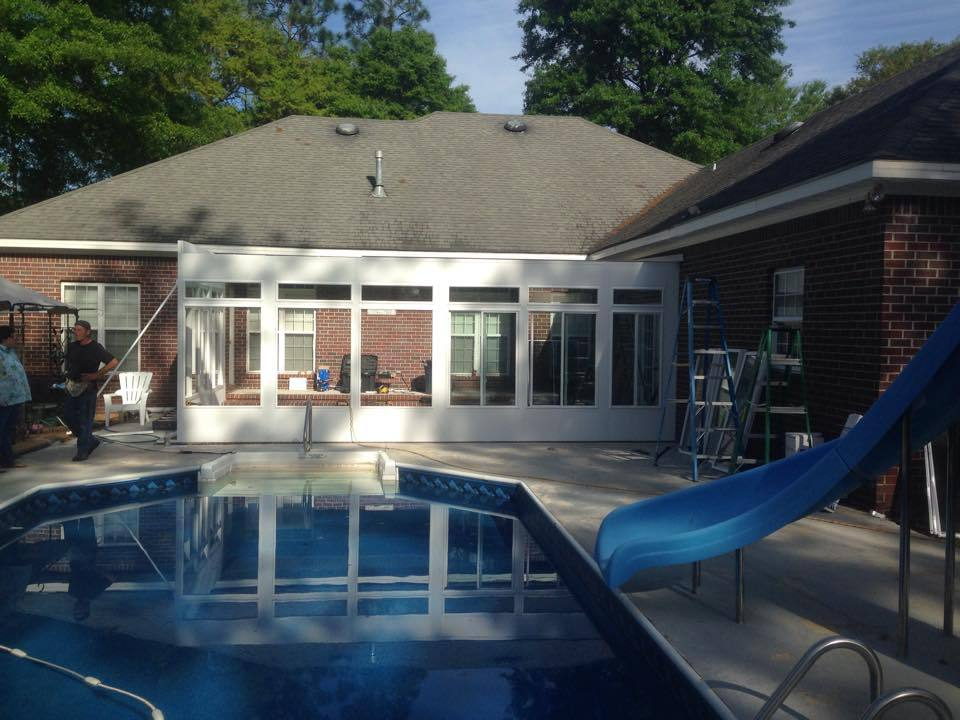 Patio Contractor Mobile Al Screen Room Contractor