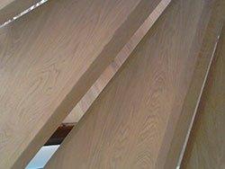 delle assi in legno