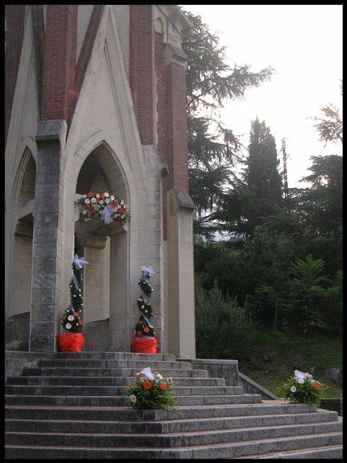 Decorazione esterna Chiesa