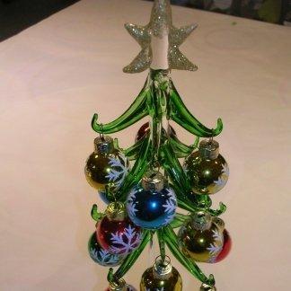 Mirhò alberello natalizio Murano