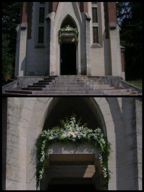 Addobbi esterni chiesa