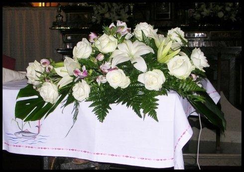 Rose lilium alstromerie matrimonio