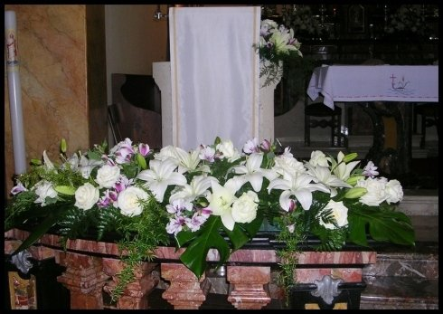 Motivo floreale per matrimonio