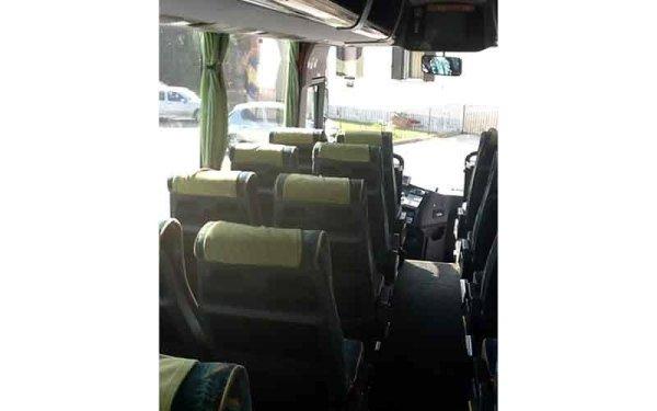 autobus con tv color