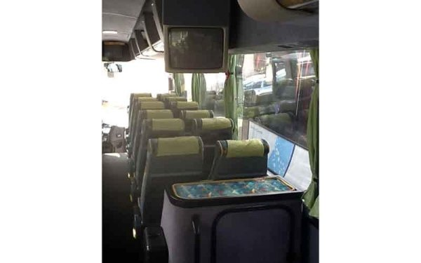 autobus con toilette