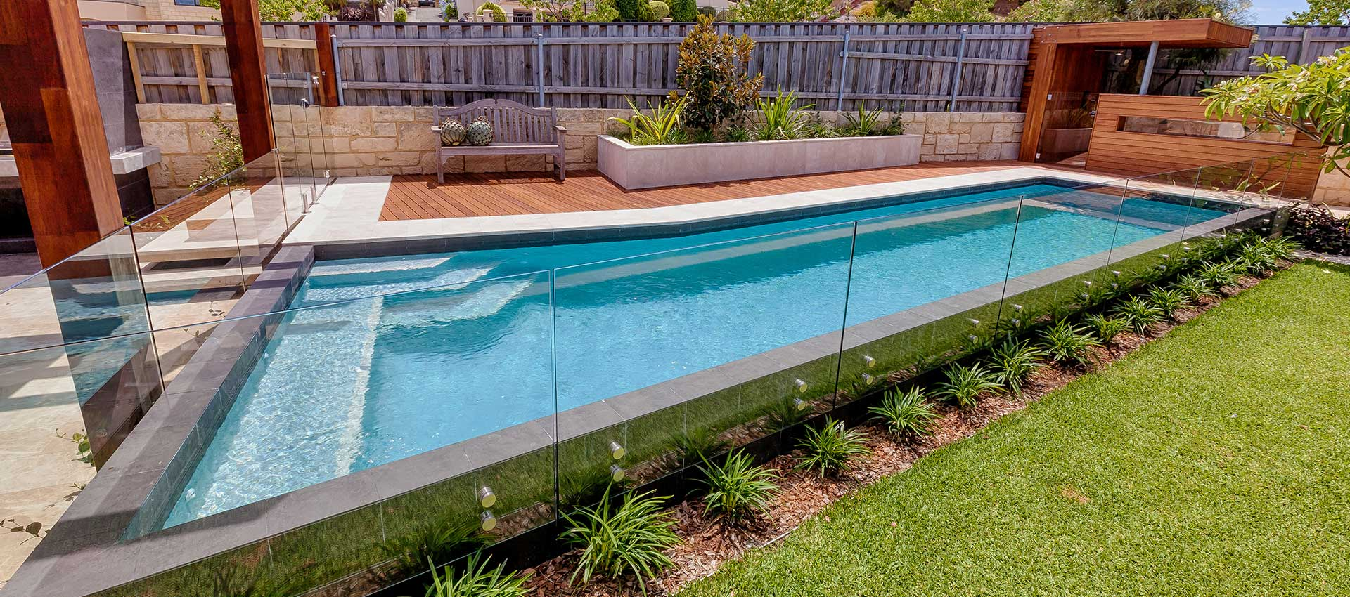 Coastline pools the hunters award swimming pool builders Fibreglass pools vs concrete pools