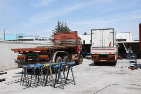 riparazione e sostituzione balestre