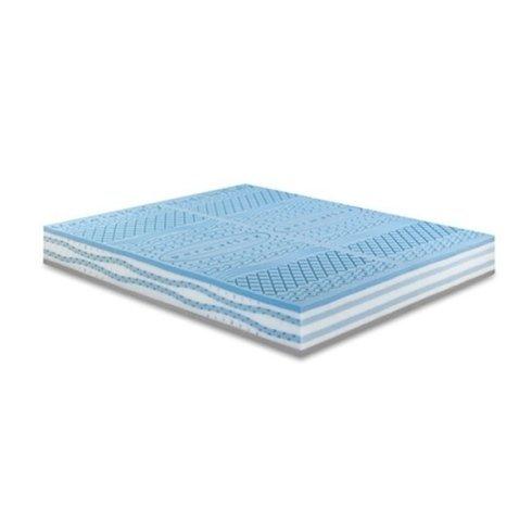materasso memory foam azzurra