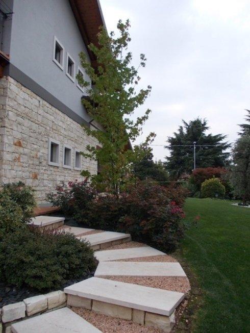 giardini con alberi ad alto fusto