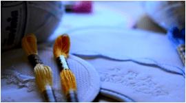 cotone da ricamo