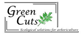 Green Cuts logo