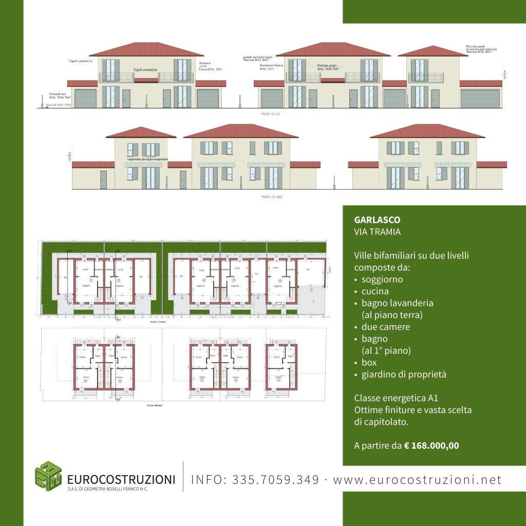 immagine di un progetto di 4 ville