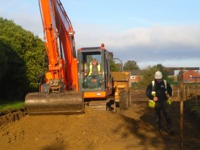 Excavations - Drain & Pipes - E J Taylor & Sons