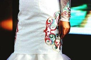 Design di tessuti per abbigliamento