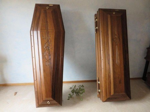 Due barre in legno