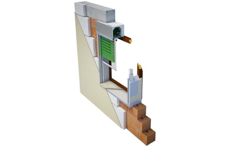 sezione infisso risparmio energetico